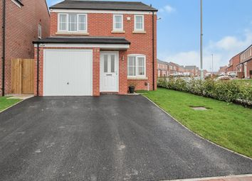 Thumbnail 3 bed detached house for sale in Whitby Close, Newton-Le-Willows, Newton-Le-Willows