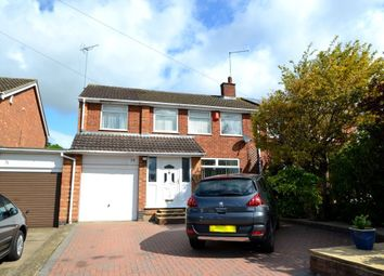 Thumbnail 4 bed semi-detached house to rent in Hinton Road, Northampton