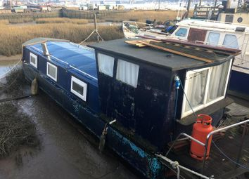 Thumbnail 1 bed houseboat for sale in Knight Rd, Strood, Kent