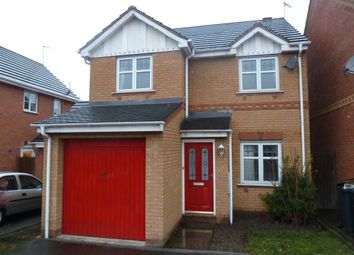 Thumbnail 3 bed detached house to rent in Packwood Close, Nuneaton