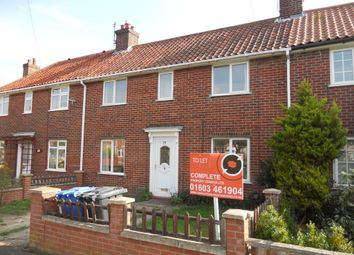 Thumbnail 4 bedroom terraced house to rent in George Borrow Road, Norwich