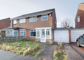 Thumbnail 3 bed semi-detached house for sale in Banbury Way, Blyth