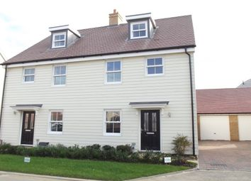 Thumbnail 3 bed semi-detached house to rent in Wensum Grove, Biggleswade