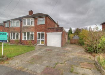 Thumbnail 3 bed semi-detached house for sale in Gresty Avenue, Peel Hall, Manchester
