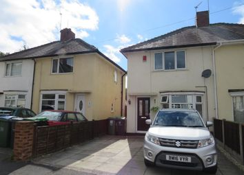 2 bed semi-detached house for sale in Myvod Road, Wednesbury WS10