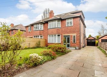 Thumbnail 4 bed semi-detached house for sale in Edge Lane, Manchester