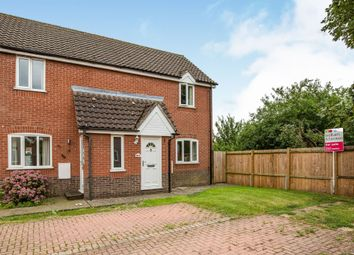 Thumbnail 2 bedroom semi-detached house for sale in Yew Tree Road, Attleborough