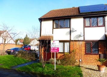 Thumbnail 2 bedroom end terrace house for sale in Goldcrest Walk, Swindon