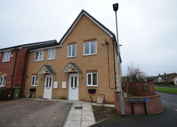 Thumbnail 2 bed semi-detached house to rent in Minsthorpe Mews, South Elmsall, Pontefract