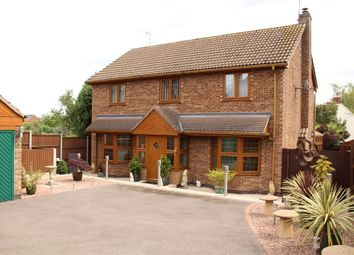 Thumbnail 4 bed detached house for sale in Roman Close, Claybrooke Magna, Lutterworth