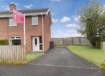 Thumbnail 3 bed semi-detached house to rent in 33 Down Royal, Maze, Lisburn