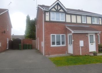 Thumbnail 2 bed semi-detached house for sale in Sword Close, Glenfield, England
