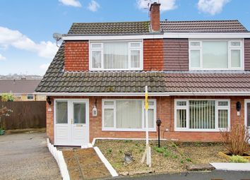 Thumbnail 3 bed semi-detached house for sale in 10, The Spinney, Newport, Newport