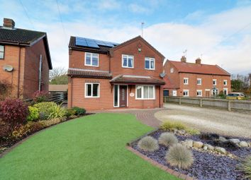 Thumbnail 4 bed detached house for sale in Kelsey Road, Moortown, Market Rasen