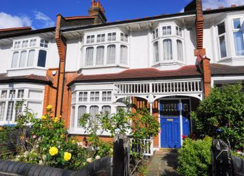 Thumbnail 4 bed terraced house for sale in Caversham Avenue, London