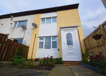 Thumbnail 2 bed end terrace house for sale in Tarn Close, Peterlee, County Durham