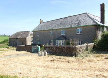 Thumbnail 5 bed farmhouse for sale in Petrockstowe, Okehampton, Devon