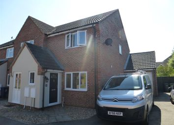 Thumbnail 3 bed semi-detached house for sale in Orchard Close, Warboys, Huntingdon
