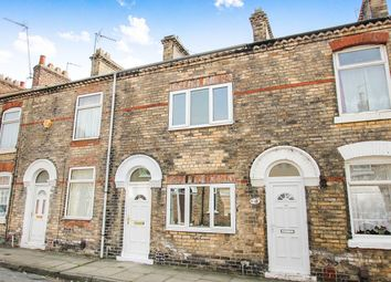 Thumbnail 2 bedroom terraced house for sale in Hanover Street West, York