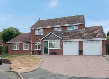 Thumbnail 6 bed detached house for sale in Beverley Close, Wylde Green, Sutton Coldfield