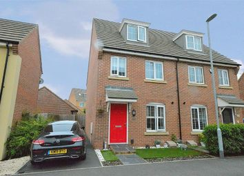 Thumbnail 3 bed semi-detached house for sale in Mayfly Road, Dragonfly Meadows, Northampton