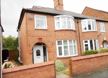 Thumbnail 3 bed semi-detached house for sale in Gainsborough Road, Crewe, Cheshire