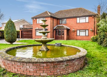 Thumbnail 4 bed detached house for sale in Louth Road, Wragby, Market Rasen, Lincolnshire