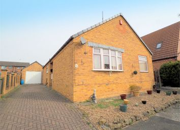 Thumbnail 3 bed detached bungalow for sale in The Green, Huthwaite, Nottinghamshire