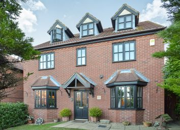 Thumbnail 5 bed detached house for sale in Welsummer Grove, Shenley Brook End, Milton Keynes