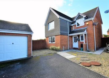 Thumbnail 4 bed detached house for sale in Lon Fferm Felin, Barry