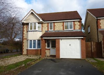 Thumbnail 4 bed detached house to rent in Blenheim Way, Southmoor, Abingdon