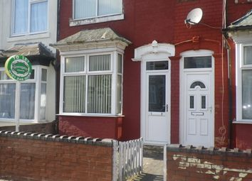 Thumbnail 3 bed terraced house to rent in Paddington Road, Handsworth