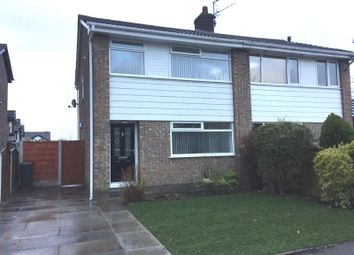 Thumbnail 3 bed semi-detached house to rent in Marlbrook Drive, Westhoughton, Bolton