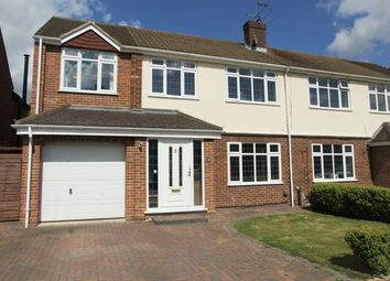 Thumbnail 5 bedroom semi-detached house for sale in Robert Close, Hersham, Walton-On-Thames