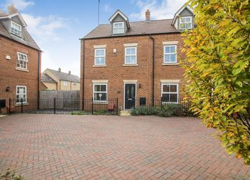 Thumbnail 4 bed end terrace house for sale in Grebe Drive, Leighton Buzzard
