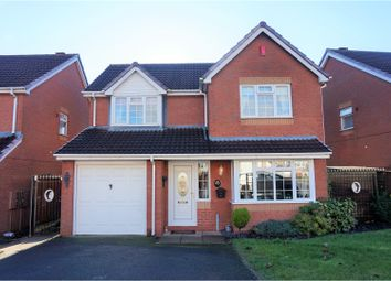 Thumbnail 4 bedroom detached house for sale in Charlecote Drive, Dudley