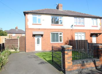 Thumbnail 3 bed semi-detached house for sale in Derbyshire Crescent, Stretford, Manchester