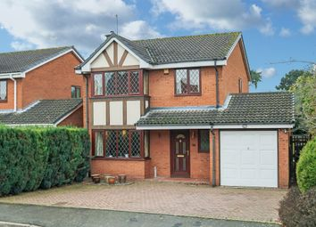 Thumbnail 4 bed detached house for sale in Avoncroft Road, Stoke Heath, Bromsgrove