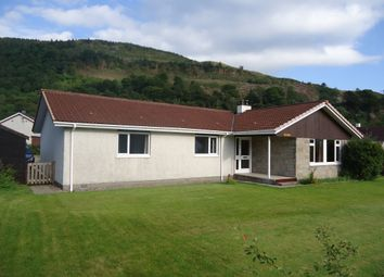 Thumbnail 4 bed detached bungalow for sale in Benderloch, Oban