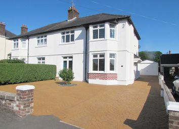 Thumbnail 3 bed semi-detached house to rent in Bowham Avenue, Bridgend