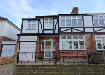 Thumbnail 4 bedroom semi-detached house to rent in Brockenhurst Avenue, Worcester Park