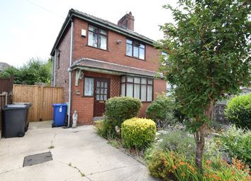 Thumbnail 3 bed semi-detached house for sale in Derby Road, Whitefield, Manchester