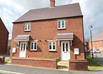 Thumbnail 2 bed semi-detached house for sale in Pianoforte Road, Roade, Northampton