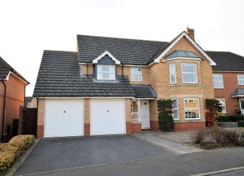 Thumbnail 4 bedroom detached house for sale in Schofield Road, Oakham