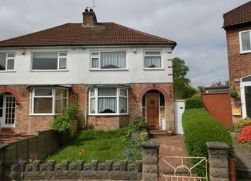 Thumbnail 3 bed semi-detached house for sale in Velsheda Road, Shirley, Solihull