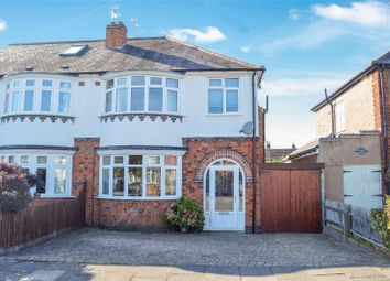 Thumbnail 4 bed semi-detached house for sale in Northfold Road, Knighton, Leicester