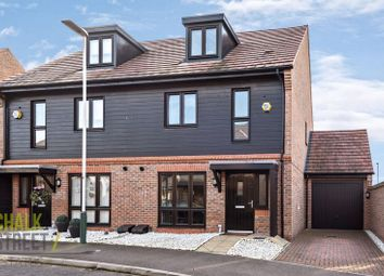 Thumbnail 4 bed semi-detached house for sale in Egbert Close, Hornchurch