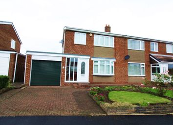 Thumbnail 3 bed semi-detached house to rent in St. Barnabas, Burnmoor, Houghton Le Spring