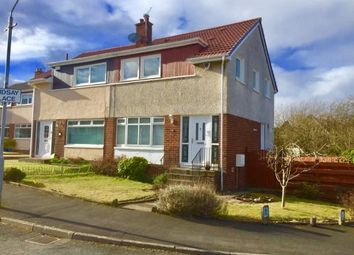 Thumbnail 3 bed semi-detached house for sale in Lindsay Place, Lenzie, Glasgow