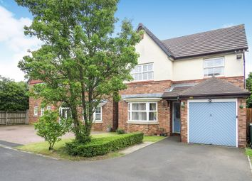 Thumbnail 4 bed detached house for sale in Holmbridge Grove, Shelfield, Walsall